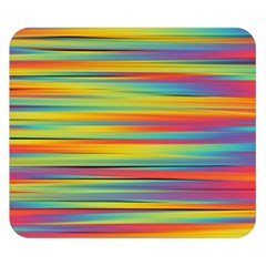 Colorful Background Double Sided Flano Blanket (small)
