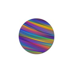 Colorful Background Golf Ball Marker (4 Pack)