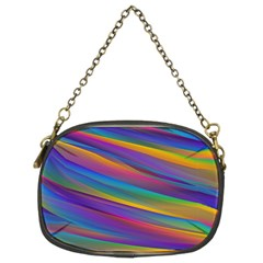 Colorful Background Chain Purses (two Sides)