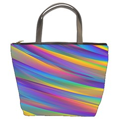 Colorful Background Bucket Bags