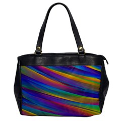 Colorful Background Office Handbags