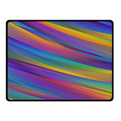 Colorful Background Fleece Blanket (small)