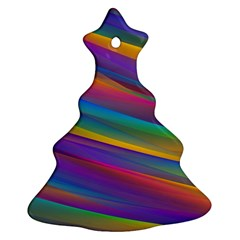 Colorful Background Ornament (christmas Tree)