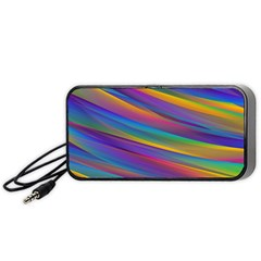Colorful Background Portable Speaker