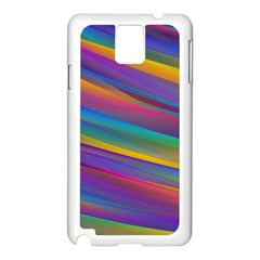 Colorful Background Samsung Galaxy Note 3 N9005 Case (white)