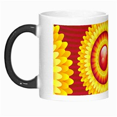 Floral Abstract Background Texture Morph Mugs