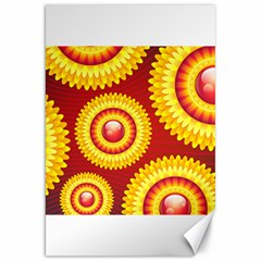 Floral Abstract Background Texture Canvas 20  X 30