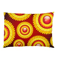 Floral Abstract Background Texture Pillow Case
