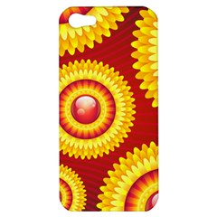 Floral Abstract Background Texture Apple Iphone 5 Hardshell Case