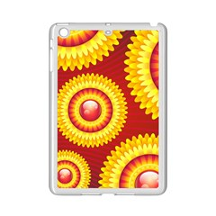 Floral Abstract Background Texture Ipad Mini 2 Enamel Coated Cases