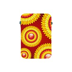 Floral Abstract Background Texture Apple Ipad Mini Protective Soft Cases