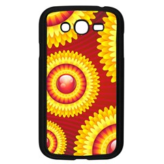 Floral Abstract Background Texture Samsung Galaxy Grand Duos I9082 Case (black)