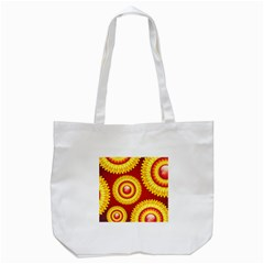 Floral Abstract Background Texture Tote Bag (white) by Nexatart