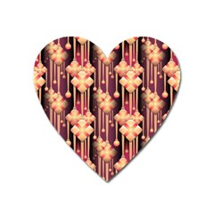 Seamless Pattern Patterns Heart Magnet