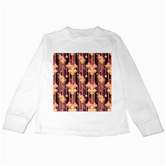 Seamless Pattern Patterns Kids Long Sleeve T Shirts