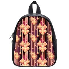 Seamless Pattern Patterns School Bag (small)