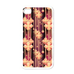 Seamless Pattern Patterns Apple Iphone 4 Case (white)