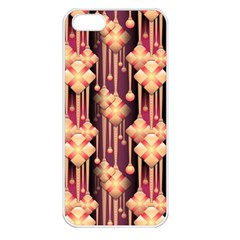 Seamless Pattern Patterns Apple Iphone 5 Seamless Case (white)
