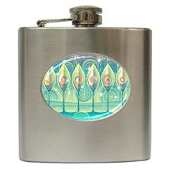 Background Landscape Surreal Hip Flask (6 Oz) by Nexatart