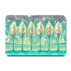 Background Landscape Surreal Small Doormat
