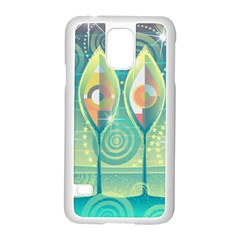 Background Landscape Surreal Samsung Galaxy S5 Case (white)