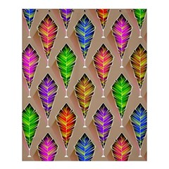 Abstract Background Colorful Leaves Shower Curtain 60  X 72  (medium)