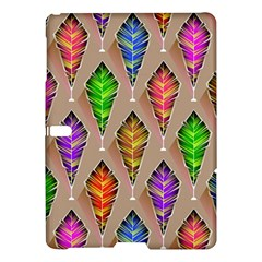 Abstract Background Colorful Leaves Samsung Galaxy Tab S (10 5 ) Hardshell Case