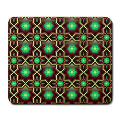 Pattern Background Bright Brown Large Mousepads