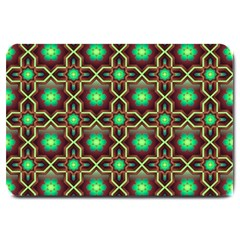Pattern Background Bright Brown Large Doormat