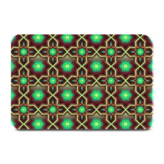 Pattern Background Bright Brown Plate Mats