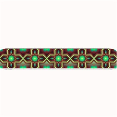 Pattern Background Bright Brown Small Bar Mats by Nexatart