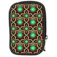 Pattern Background Bright Brown Compact Camera Cases