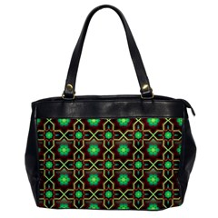 Pattern Background Bright Brown Office Handbags