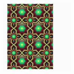 Pattern Background Bright Brown Large Garden Flag (two Sides)