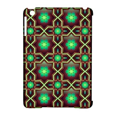 Pattern Background Bright Brown Apple Ipad Mini Hardshell Case (compatible With Smart Cover)