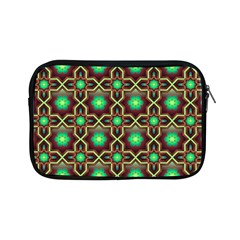 Pattern Background Bright Brown Apple Ipad Mini Zipper Cases by Nexatart
