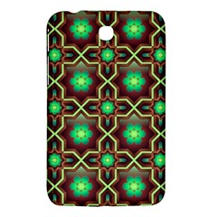 Pattern Background Bright Brown Samsung Galaxy Tab 3 (7 ) P3200 Hardshell Case