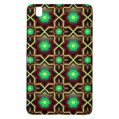 Pattern Background Bright Brown Samsung Galaxy Tab Pro 8 4 Hardshell Case