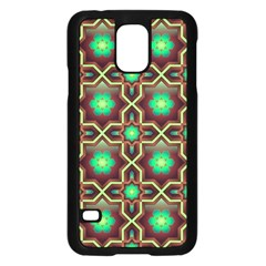 Pattern Background Bright Brown Samsung Galaxy S5 Case (black)