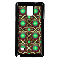 Pattern Background Bright Brown Samsung Galaxy Note 4 Case (black)