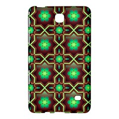 Pattern Background Bright Brown Samsung Galaxy Tab 4 (8 ) Hardshell Case
