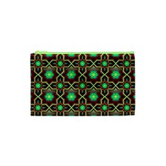 Pattern Background Bright Brown Cosmetic Bag (xs)