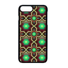 Pattern Background Bright Brown Apple Iphone 8 Plus Seamless Case (black)