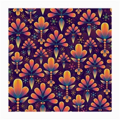 Abstract Background Floral Pattern Medium Glasses Cloth by Nexatart