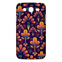 Abstract Background Floral Pattern Samsung Galaxy Mega 5 8 I9152 Hardshell Case