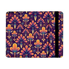 Abstract Background Floral Pattern Samsung Galaxy Tab Pro 8 4  Flip Case