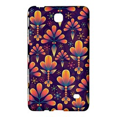Abstract Background Floral Pattern Samsung Galaxy Tab 4 (8 ) Hardshell Case