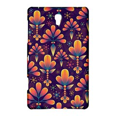 Abstract Background Floral Pattern Samsung Galaxy Tab S (8 4 ) Hardshell Case