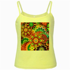 Colorful Abstract Background Colorful Yellow Spaghetti Tank