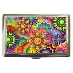 Colorful Abstract Background Colorful Cigarette Money Cases by Nexatart